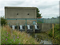 TQ4980 : Great Breach pumping station by Robin Webster