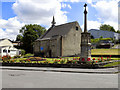 NZ2062 : War Memorial and Holy Trinity Church, Swalwell by David Dixon