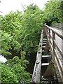 NY2723 : Old railway bridge: detail by Stephen Craven