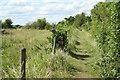 SK8160 : Gravel pits footpath by Richard Croft
