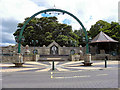 NZ2226 : Shildon Arch by David Dixon