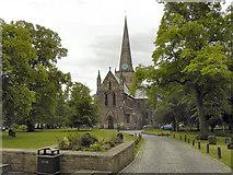 NZ2914 : St Cuthbert's Parish Church, Darlington by David Dixon