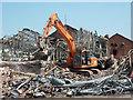 SK9671 : Demolition site by Richard Croft