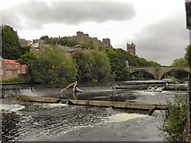 NZ2742 : River Wear, Durham Castle and Cathedral by David Dixon