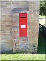 TL2664 : Papworth St.Agnes Village Victorian Postbox by Geographer