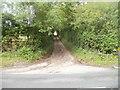 SO2416 : Access lane to Cydiad-y-ddwysir Farm near Glangrwyney by Jaggery