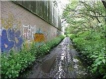 SE0125 : Hebden Royd Path 54, Mytholmroyd by Humphrey Bolton