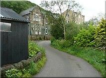 SE0125 : Hebden Royd Path 44 (Scout Bottom Lane), Mytholmroyd by Humphrey Bolton
