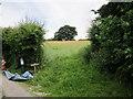 SJ4869 : Footpath near Swinfordmill Farm by Jeff Buck