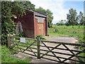 SJ4768 : Electricity substation near Great Barrow by Jeff Buck