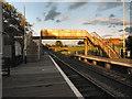 NZ2624 : Newton Aycliffe Station Footbridge by David Dixon