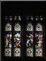 NZ0516 : Stained Glass Window, St Mary's Parish Church, Barnard Castle by David Dixon