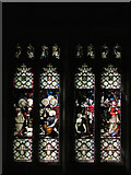 NZ0516 : Stained Glass Window, St Mary's Parish Church, Barnard Castle by David Dixon