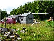 NG5536 : Raasay sawmill by John Allan