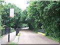 SZ5781 : Driveway over former railway, Shanklin by Malc McDonald