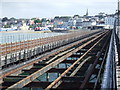 SZ5993 : Dismantled tramway, Ryde Pier by Malc McDonald