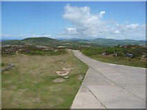 SH1325 : The view north east from Mynydd Mawr on the end of the Lleyn Peninsula by Jeremy Bolwell