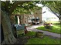 NU1734 : Corner shop, Bamburgh by Peter Barr