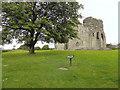 NY9913 : Bowes Castle by David Dixon