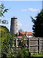 TM3864 : Kelsale Post Mill by Adrian Cable
