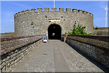 TR3752 : The Entrance to Deal Castle, Kent by Cameraman