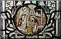 TQ5439 : All Saints, Langton Green - Stained glass window by John Salmon