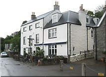 NX8355 : The Anchor Hotel, Kippford by Ann Cook