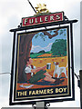 TL0218 : The Farmer's Boy sign by Oast House Archive