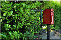 J2660 : Letter box, Ravarnet near Lisburn by Albert Bridge