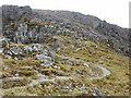 NN1971 : Path up Aonach Beag by Peter S
