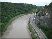 ST5673 : River Avon from Clifton Suspension Bridge by Nigel Cox