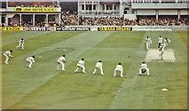 SK5838 : Trent Bridge Test Match, 1981: Alderman to Gower by John Sutton