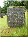 NY3022 : St John's church: graveyard extension  by Stephen Craven