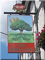 TQ5374 : The Royal Oak, Pub Sign, Dartford by David Anstiss
