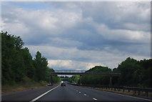 TQ8959 : Footbridge over the M2 by N Chadwick