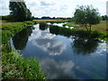 TL1197 : The River Nene near Water Newton by Marathon