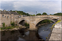 NZ0416 : County Bridge over the River Tees at Barnard Castle by Ian Greig