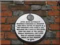 TR0161 : Plaque on No.18 Court, Faversham by David Anstiss