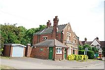TQ2673 : Wandsworth Cemetery entrance lodge by N Chadwick