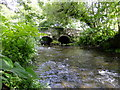 SM9835 : Afon Gwaun/ River Gwaun at Llanychaer bridge by Stefan Czapski