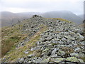 NY4612 : The summit of Castle Crag by David Purchase