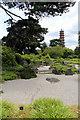 TQ1876 : Japanese Garden, Kew Gardens, London by Christine Matthews