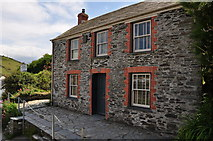 SW9980 : Port Isaac : Doc Martin's Cottage by Lewis Clarke