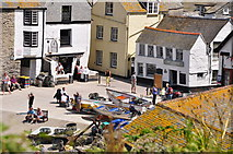 SW9980 : Port Isaac : Port Isaac Harbour by Lewis Clarke