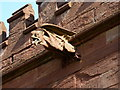 SO7299 : Gargoyle on the east side of the church by Richard Law