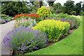 TQ1877 : Herbaceous Border, Kew, London by Christine Matthews