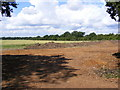 TG0524 : Earthworks off Reepham Road by Adrian Cable