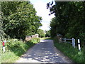 TG0723 : Bridge over Marriott's Way footpath in Forwater Road by Adrian Cable