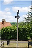 TQ6153 : Plaxtol village sign by N Chadwick
