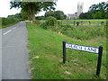 TL1886 : Church Lane, Conington by Marathon